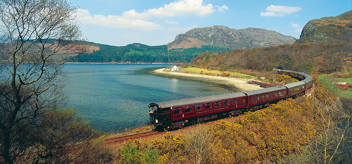 Im Royal Scotsman durch Schottland (2019/2020)