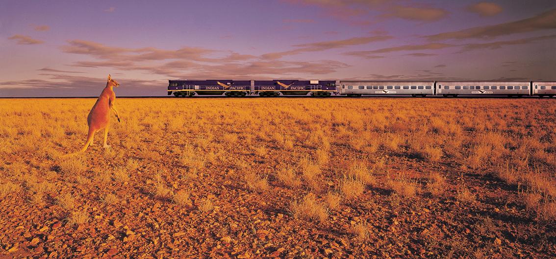 Auf Schienen durch die Weiten Australiens (2020/2021)