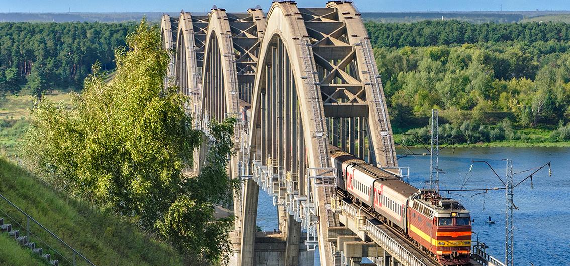 Bahnreise von Moskau bis zum Baikalsee (2020)