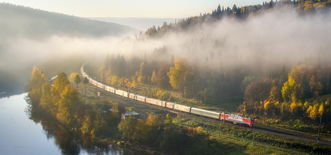 Die klassische Route der Transsibirischen Eisenbahn (2019/2020)