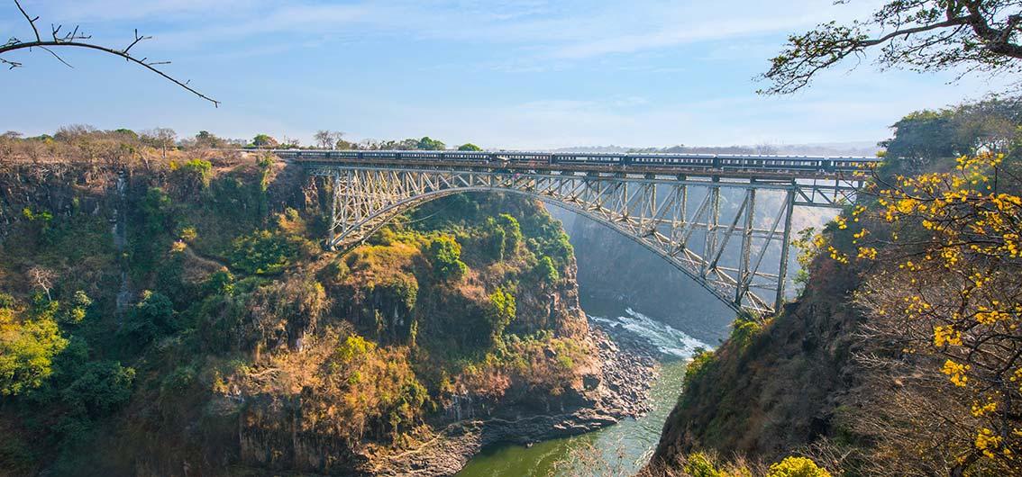 Mit Rovos Rail durch Afrika