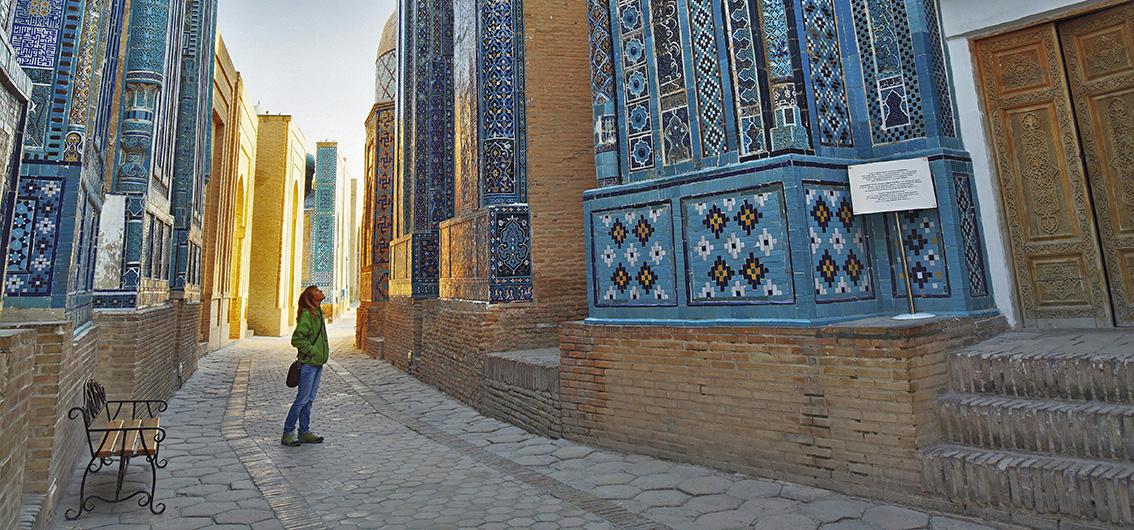 Sonderzugreise Registan: Aschgabat - Almaty