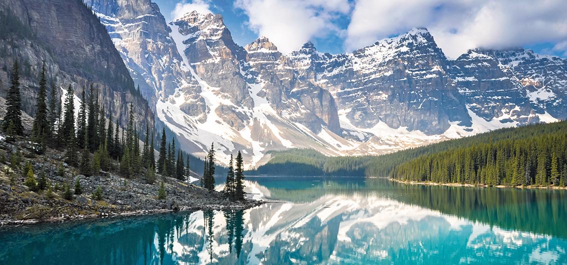 Kanada per Zug und Alaska per Schiff