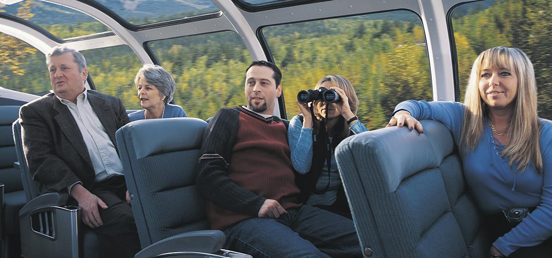 14-tägige First Class Zug-Erlebnisreise durch Kanada
