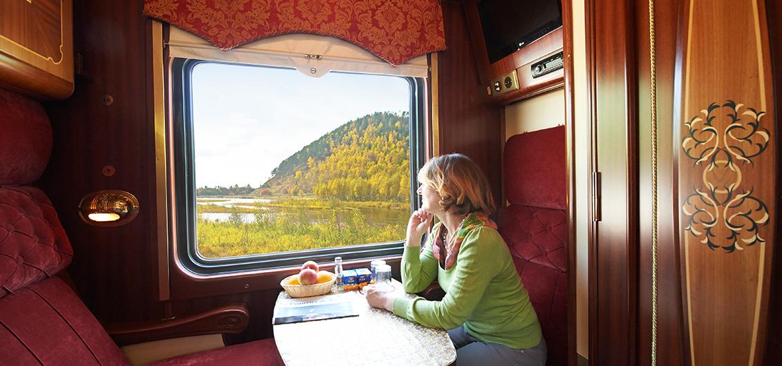 16-tägige Sonderzugreise von Russland durch die Mongolei nach China
